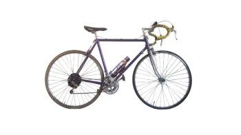 vélo électrique personnalisé vintage discret